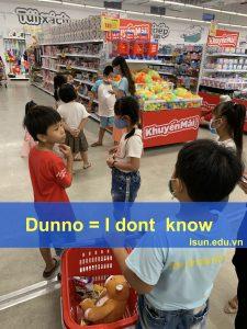 Cách nói I don't know của giới trẻ