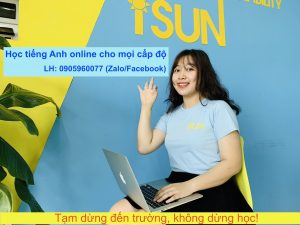 Tiếng Anh online lớp 8