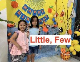 Từ bất định: Little, Few