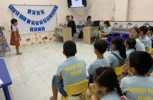 Luyện nghe tiếng Anh lớp 4 ở Quảng Ngãi