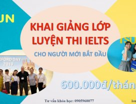 Trung tâm tiếng Anh ở Quảng ngãi dạy luyện thi IELTS
