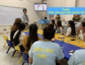 Tuyển dụng giáo viên tiếng Anh người lớn tại Quảng ngãi