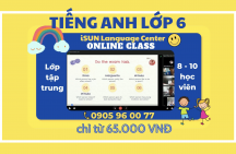 Tiếng Anh online lớp 6