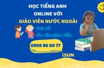 Học tiếng Anh online với giáo viên nước ngoài
