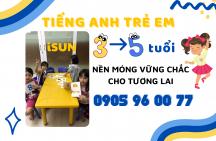 Tiếng Anh cho trẻ em từ 3 – 5 tuổi tại thành phố Quảng Ngãi
