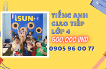 Tiếng Anh giao tiếp lớp 4