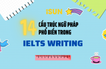 14 cấu trúc ngữ pháp phổ biến trong IELTS Writing