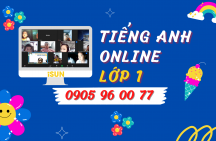 Tiếng Anh online lớp 1