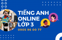 Tiếng Anh online lớp 3