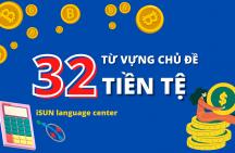 32 từ vựng tiếng Anh chủ đề tiền tệ thông dụng
